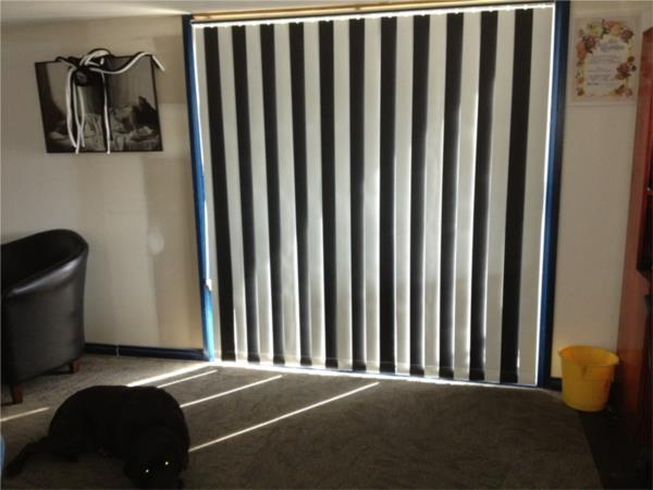 Vertical Blinds for a Collingwood supporter