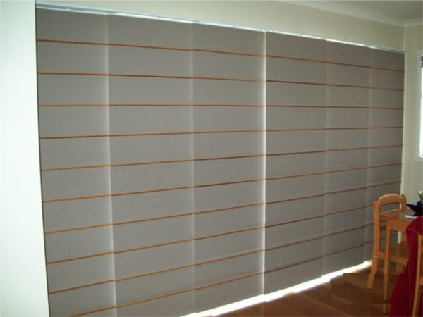 Panel Blinds with Bali Batton
