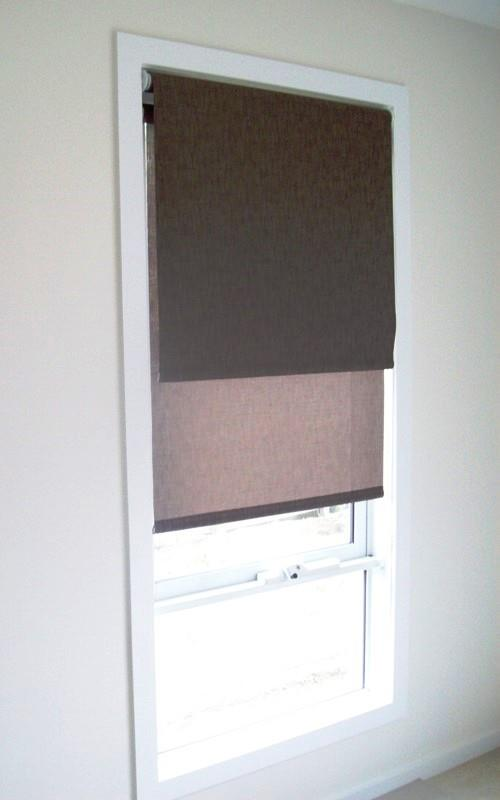 Double Roller Blinds recessed
